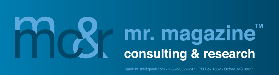 Mr. Magazine™ Consulting & Research, Inc.